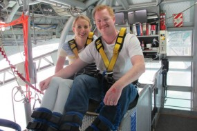 Bungy world record attempt