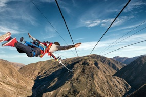 Bungy Pioneer unveils world-first Catapult experience